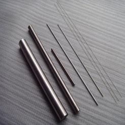Wolfram Stab, Stäbe, Elektroden