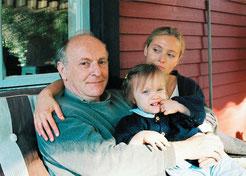 Бродский с женой Марией Соццани и дочерью Анной