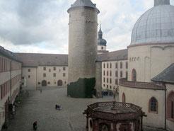Festung Marienberg, innerer Burghof