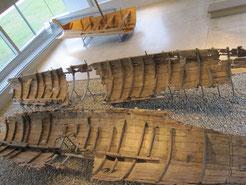 römische Militärschiffe aus dem Kastell Oberstimm