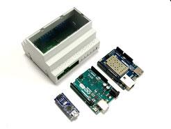 Arduino cap rail enclosure set for nano, yun and uno