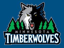 логотип команды NBA Миннесота Тимервулвс