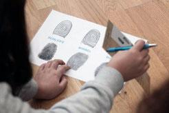 Könnt ihr euren Fingerabdruck bestimmen? Fotocredit: ArchäoNOW