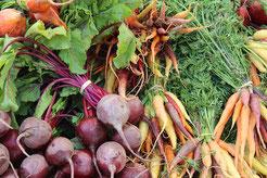 Gemüse vom Bauern