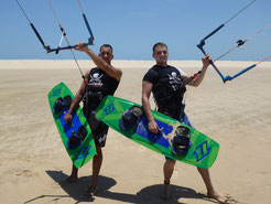 Kiten Lernen in Kite Camps bei waveBandits