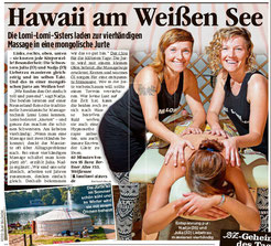 Vierhand Lomi Lomi Massage in Berlin Weissensee