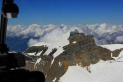 Helikopterflug Aletschgletscher/Jungfraujoch