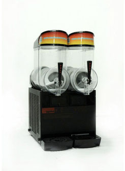 Profi Slusheismaschine XL mit 2 Kammern a 10 l