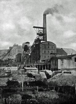Zeche Holland, Schacht I und II, um 1910