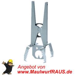 Die Zangenfalle von MaulwurfRAUS.de