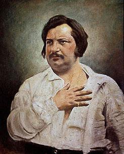 Honoré De Balzac, Lune Noire en Taureau en maison X.