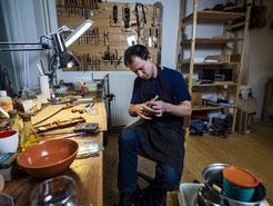 Vioolbouwer Erik Wendrich, Rotterdam