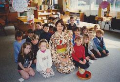 ▲ニュージーランド小学校教室の写真