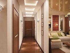 ремонт прихожей Одесса, ремонт прихожей в квартире, ремонт коридора в квартире, дизайн коридора
