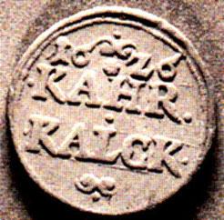 Kalkzeichen von 1609