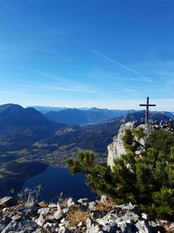 Gipfel der Trisselwand über dem Altausseer See
