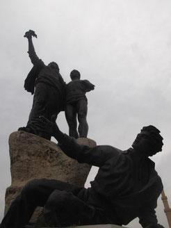 Die Statue am Märtyrer-Platz in Beirut: Ein Symbol der Standhaftigkeit