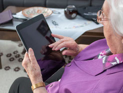 Jewish Family Service is helping get technology into the hands of isolated older adults so they can stay connected to their friends and family.