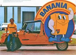 CITROËN MEHARI  BANANIA     Caravane Tour de France 1979