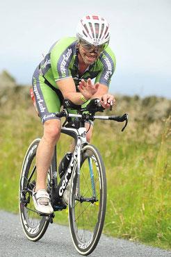 Johann Karner trotz Handikap auf Rang 2 gefahren
