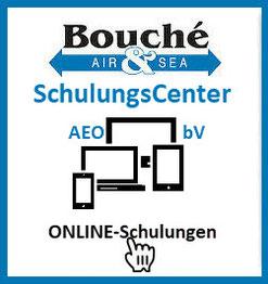 Bild: Online Schulungen des AEO &bV SchulungsCenter der Bouché Air & Sea GmbH