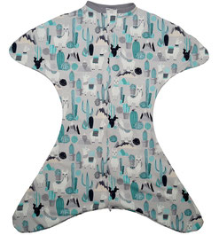 Babyschlafsack mit Lamas