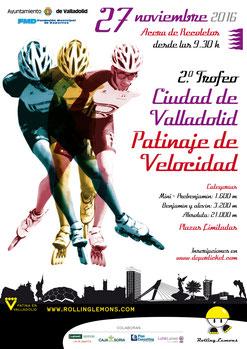 II TROFEO DE PATINAJE CIUDAD DE VALLADOLID - Valladolid, 27-11-2016