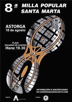 8ª MILLA POPULAR SANTA MARTA - Astorga, 18-08-2019