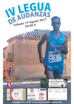 IV LEGUA POPULAR DE AUDANZAS DEL VALLE - Audanzas del Valle, 19-08-2017
