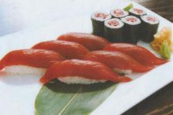Thunfisch Nigiri und Tekka-Maki Sushi