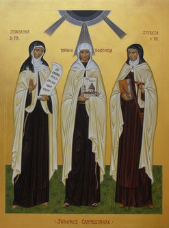 """Sorores Carmelitanae"" -  Iconografa B. Tenore."