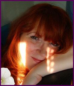 das bin ich,rote Haare und ein paar Sommersprossen