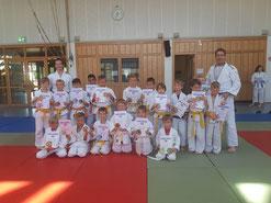 Die Judoka des SC Sand bei der Judo Safari 2018