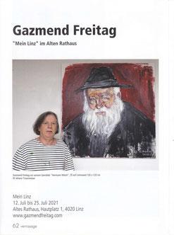 Gazmend Freitag: Magazin vernissage Nr. 353, juli - august 2021