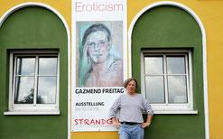 Gazmend Freitag, Galerie Strandgut Linz, 2018.  © Johann Traunwieser