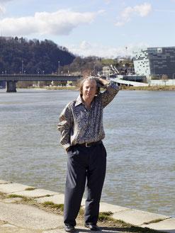 Gazmend Freitag, An der Donau Linz, 2020  © Mag.Katharina Stögmüller