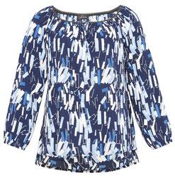 elegante Bluse für den Business-Look mollige Frau