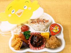 町田市民ホールへ配達の子供弁当