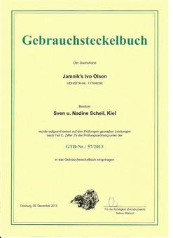 Gebrauchsteckelbuch 57/2013