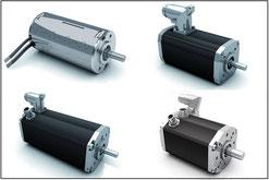 Bild: Dunkermotoren BG-Motoren mit integrierter Regelelektronik