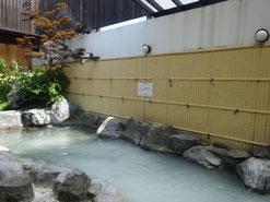 天然美肌温泉露天風呂(シルキーナノバブル)