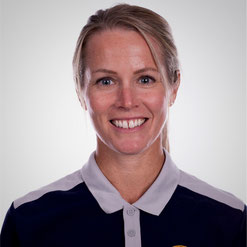 Physical Coach der Invaders: Leanne O'Leary