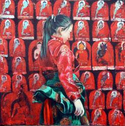倉本信之 悠久の民 チベット巡礼 作品展