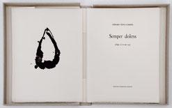 Bibliophilie Semper Dolens Gérard Titus-Carmel Dumerchez Bernard Editions Editeur