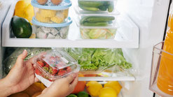 5.食材を冷蔵庫などにしまう