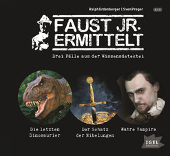 CD Cover Faust Jr. ermittelt, 3-CD-Box