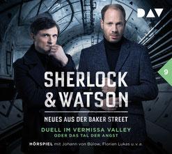 CD Cover Sherlock & Watson Fall 9
