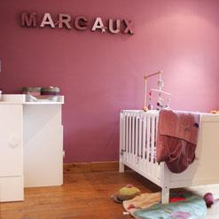 chambre bébé princesse chic