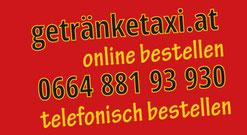 getränketaxi.at online bestellen oder unter 066488193930 telefonisch bestellen