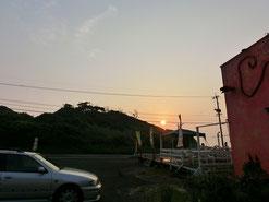 パヤラの夕日。最高の場所だーね♪